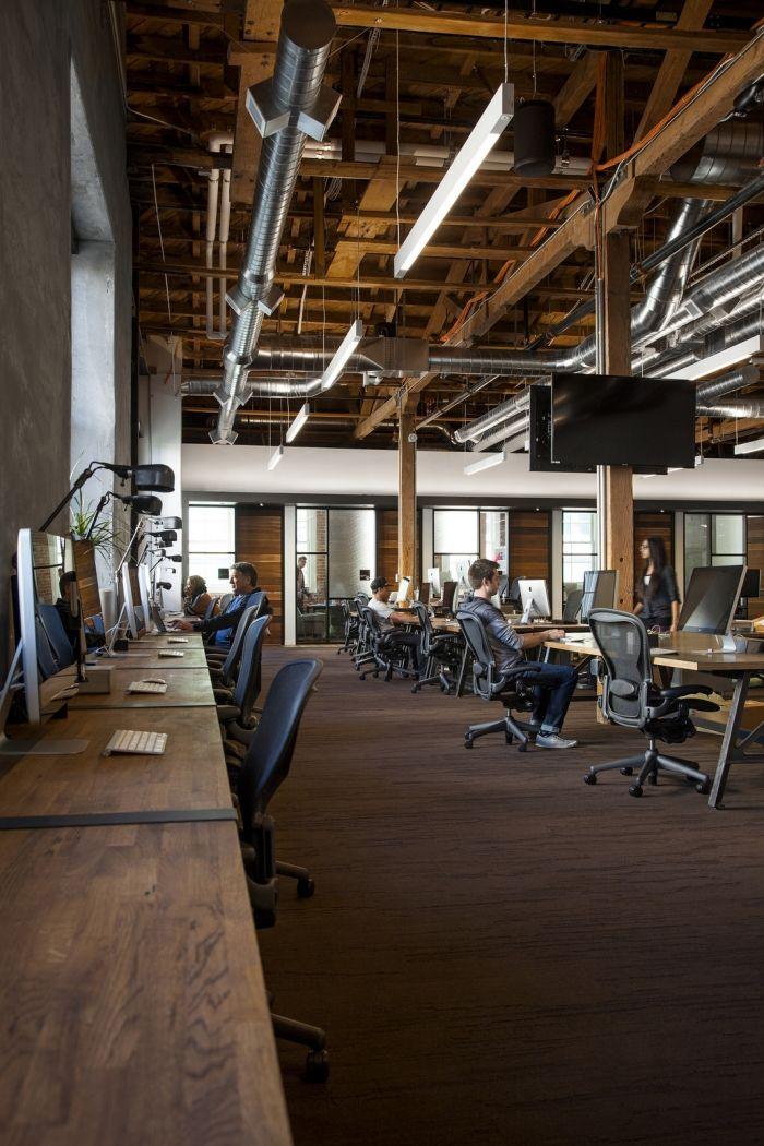 open office ceiling decoration idea. Office Tour: GitHub \u2013 San Francisco Headquarters. Desk LightOffice Ceiling LightOpen CeilingOffice DesignsOffice Open Decoration Idea