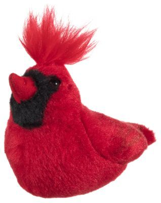 Wild Republic Audubon Ii Northern Cardinal Stuffed Animal With Sound