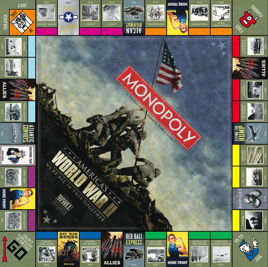 Our new board game America's WWII: We're All In This Together, takes