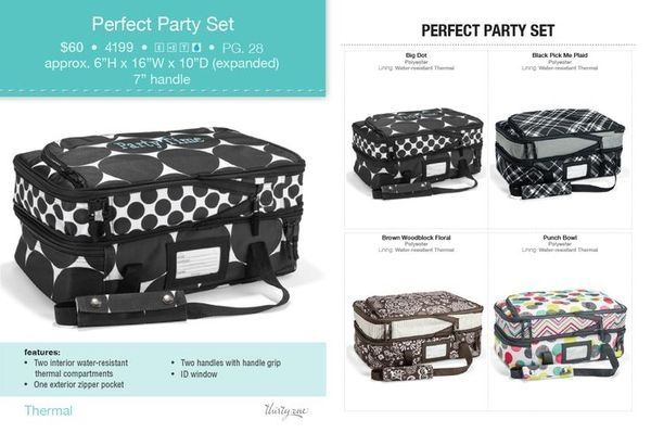 2d2d60b805 New perfect party set from thirty one! Double casserole carrier.  www.mythirtyone.
