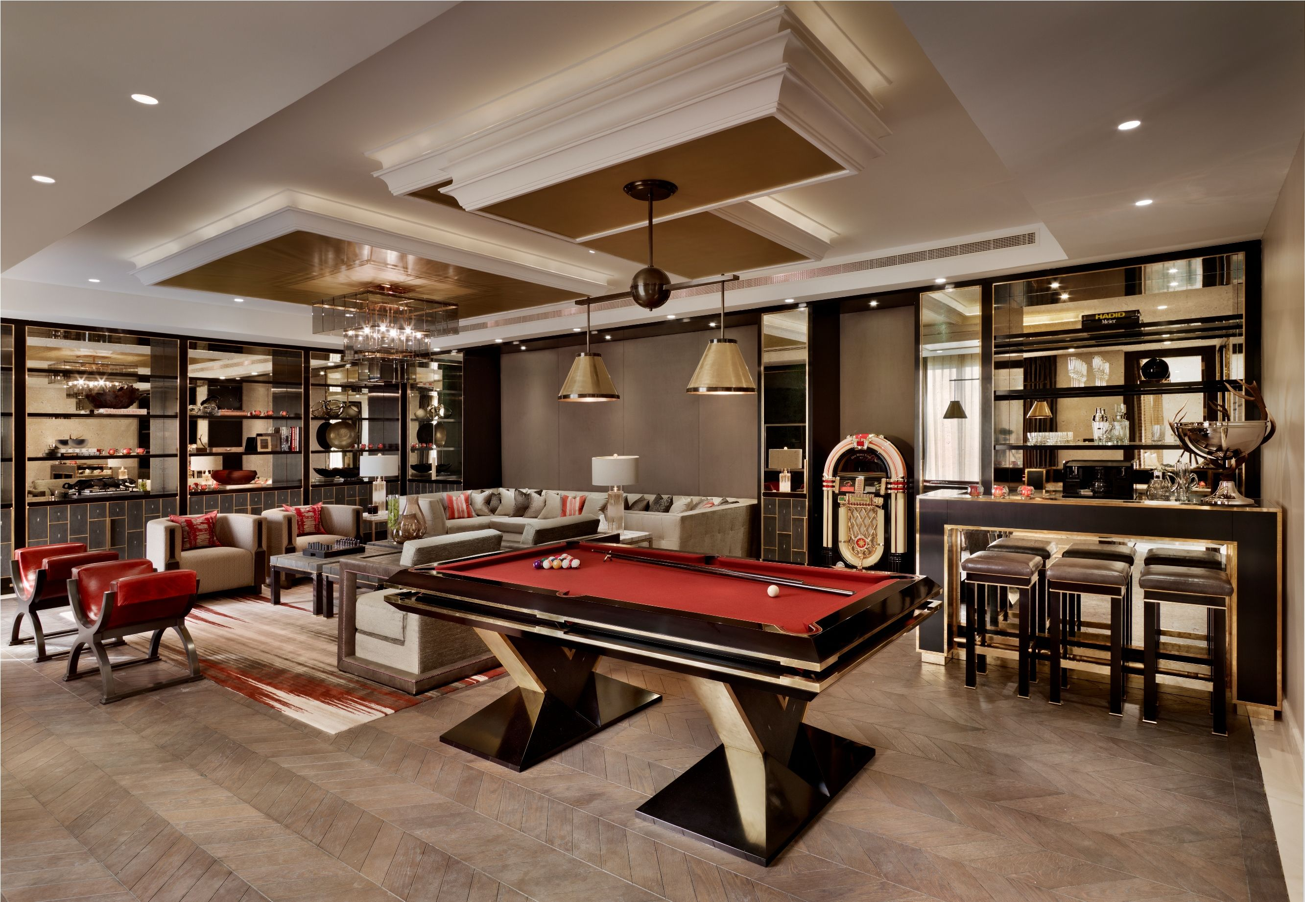 Luxury home game rooms - Interiors