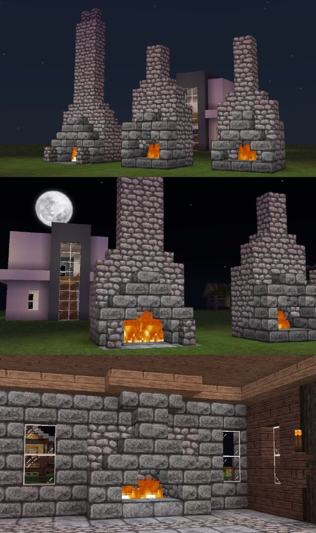 this fireplace | Minecraft | Pinterest | Minecraft ...