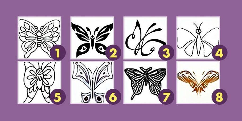 Картинки по запросу тест выбери бабочку