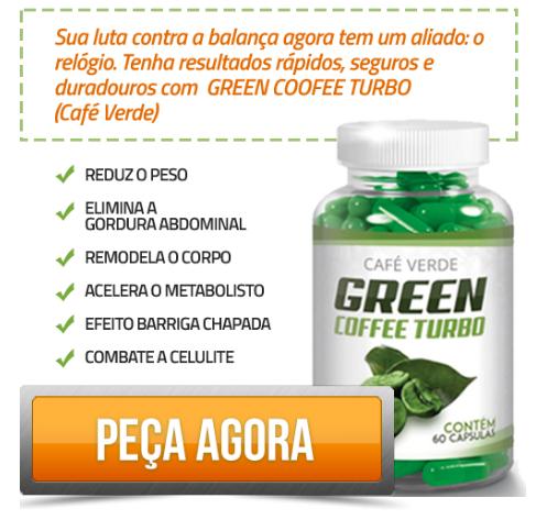 Green coffee turbo Produtos para emagrecer rápido
