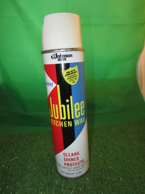 Vintage Jubilee Kitchen Wax Spray 9 Oz Johnson Sc Son Kitschy