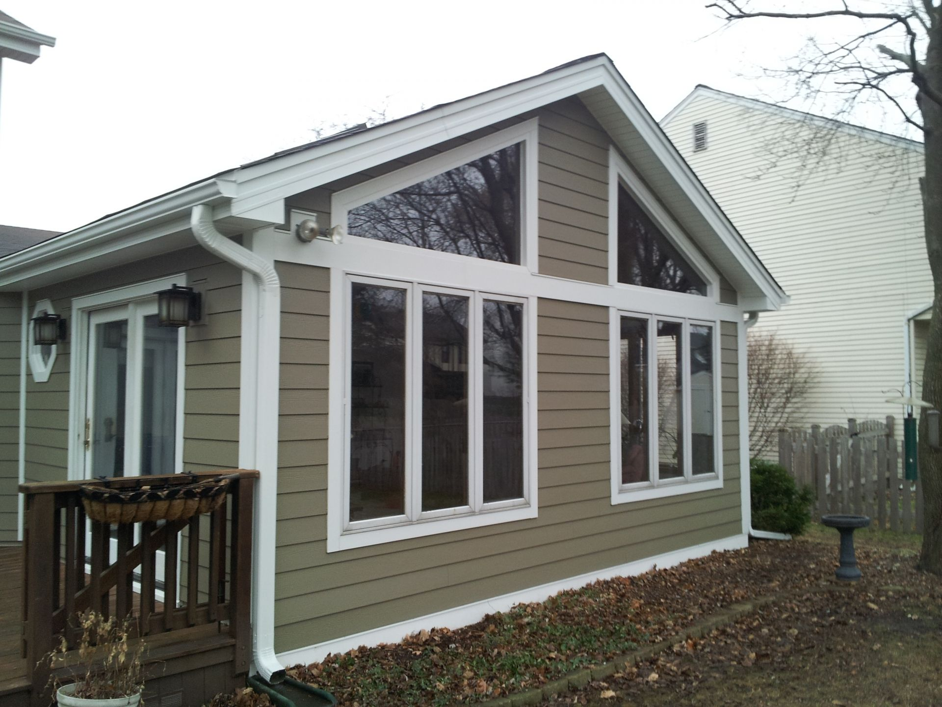 Andersen 100 Series Windows U0026 James Hardie Lap Siding: Woodstock Brown