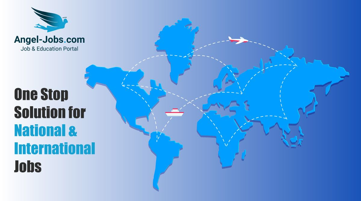 Find National & International Jobs at only one place Angel