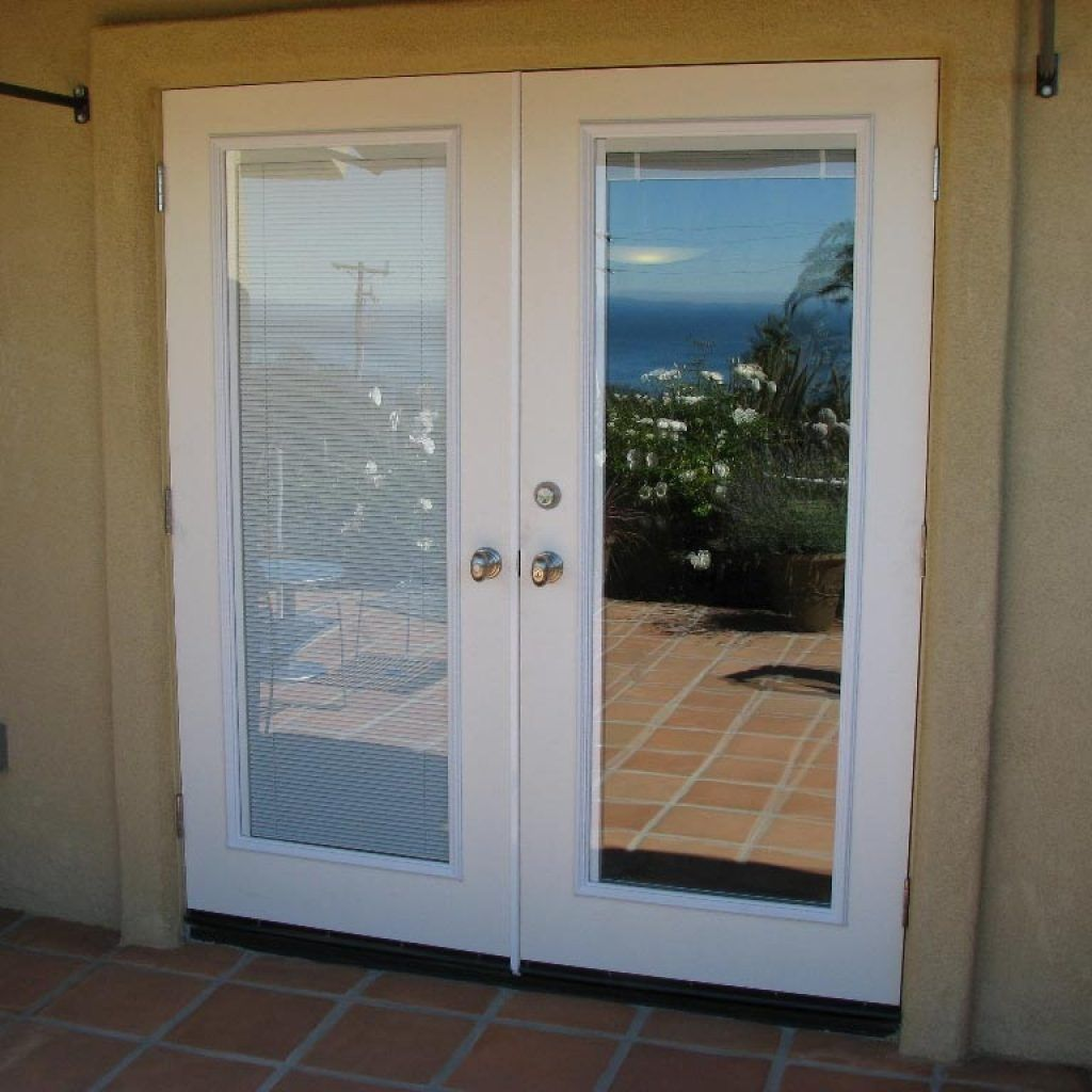 Exterior French Doors With Internal Blinds