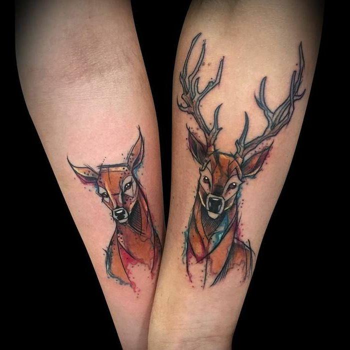 ▷ 1001 + ideas de tatuajes acuarela para hombres y mujeres