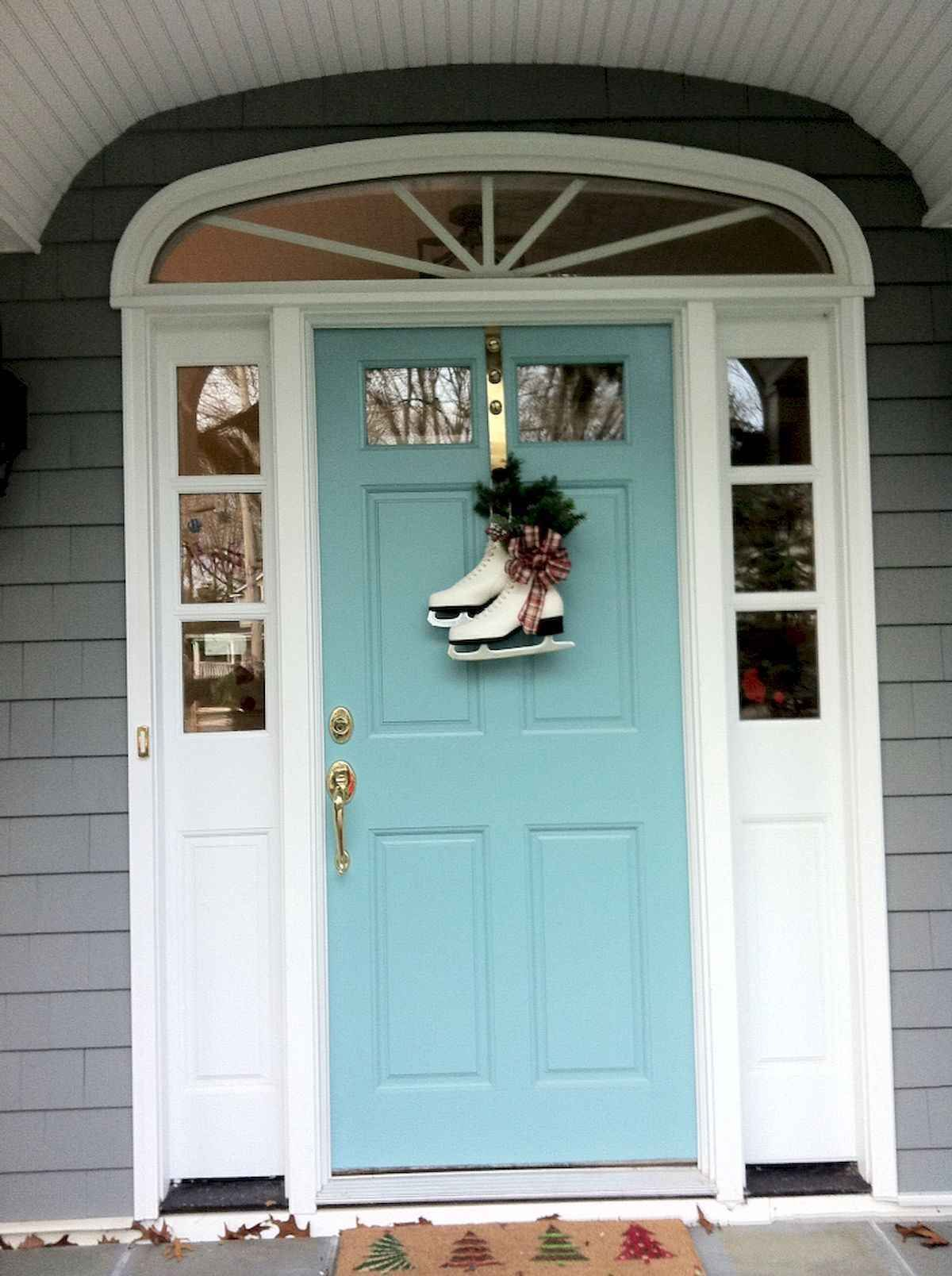 100 Unique Front Doors Colors Design Ideas (23 #victorianfrontdoors