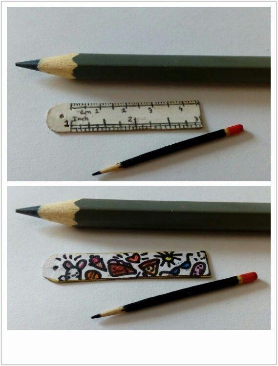 Miniature ruler!