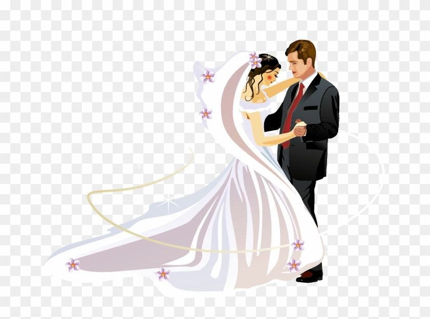 Find Hd Clip Art Freeuse Library Christian Marriage Clipart Bride And Groom Vector Png Transparent Png To Search And Down Clip Art Christian Marriage Bride