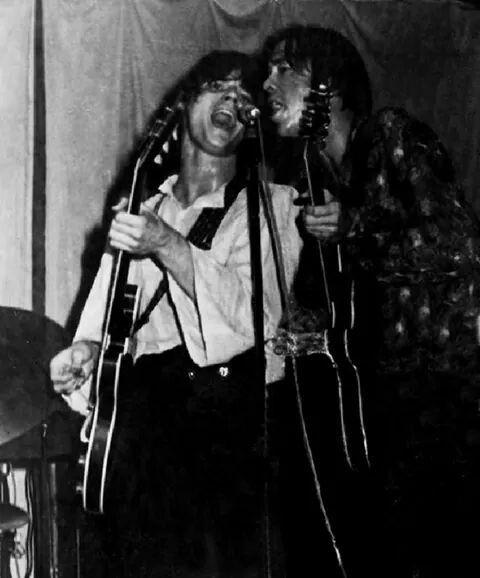 Steve Miller And Boz Scaggs At The Grande Ballroom Detroit 1968 Photo John Delorenzo Steve Miller Band Rock And Roll Rock N Roll Music