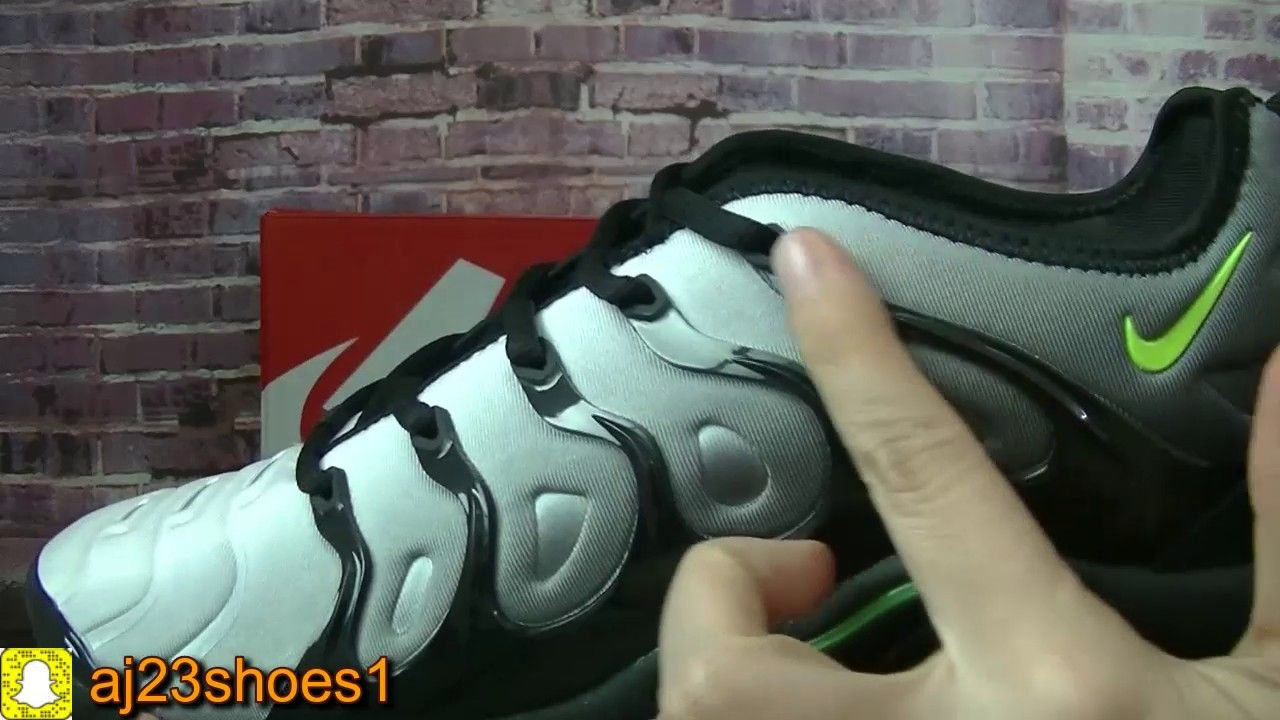 18e869b4c57fd4 Nike Air Vapormax Plus Shark Foot Locker Grey HD review from aj23shoes net