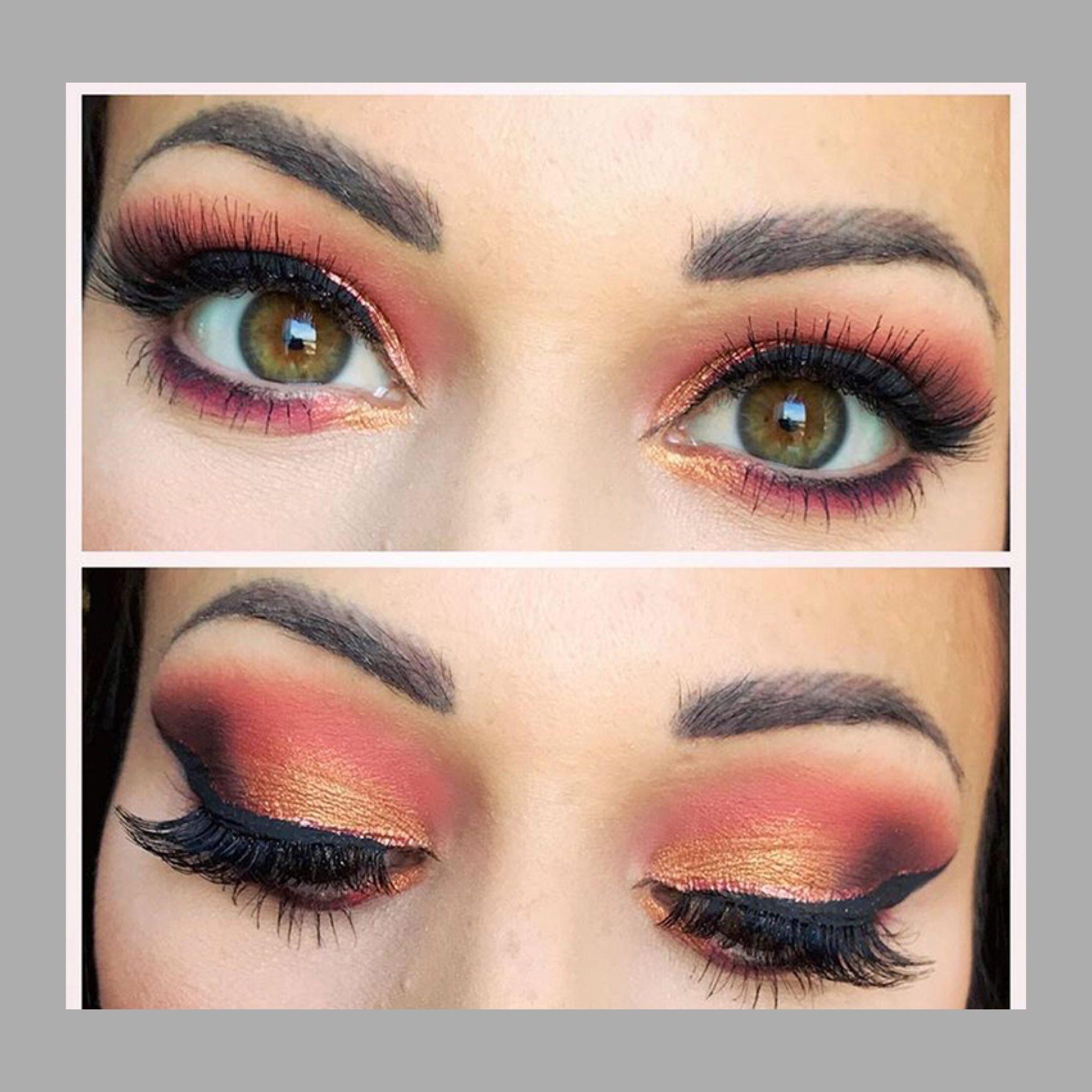 35 Colour Scandalous Eyeshadow Palette Smoky Eye Makeup