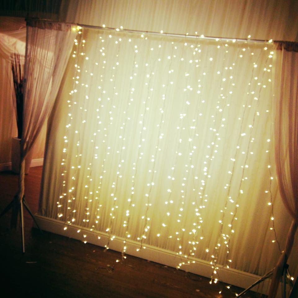 Twinkle fairylight photobooth backdrop st birthday parties th decor diy also party cumpleanos rh ar pinterest