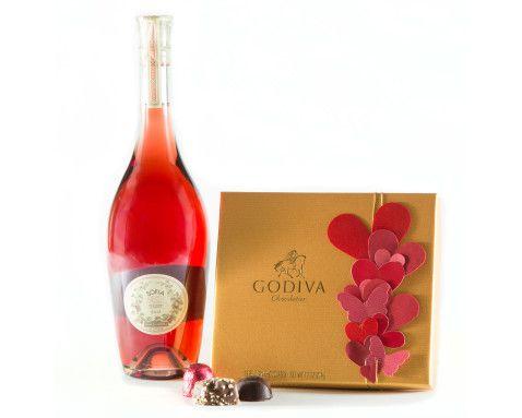 Sofia Rose and Godiva Chocolates Gift Set