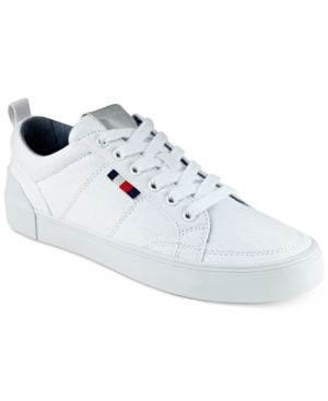 e2c9fede Tommy Hilfiger Women's Priss Lace-Up Sneakers - White 5.5M ...