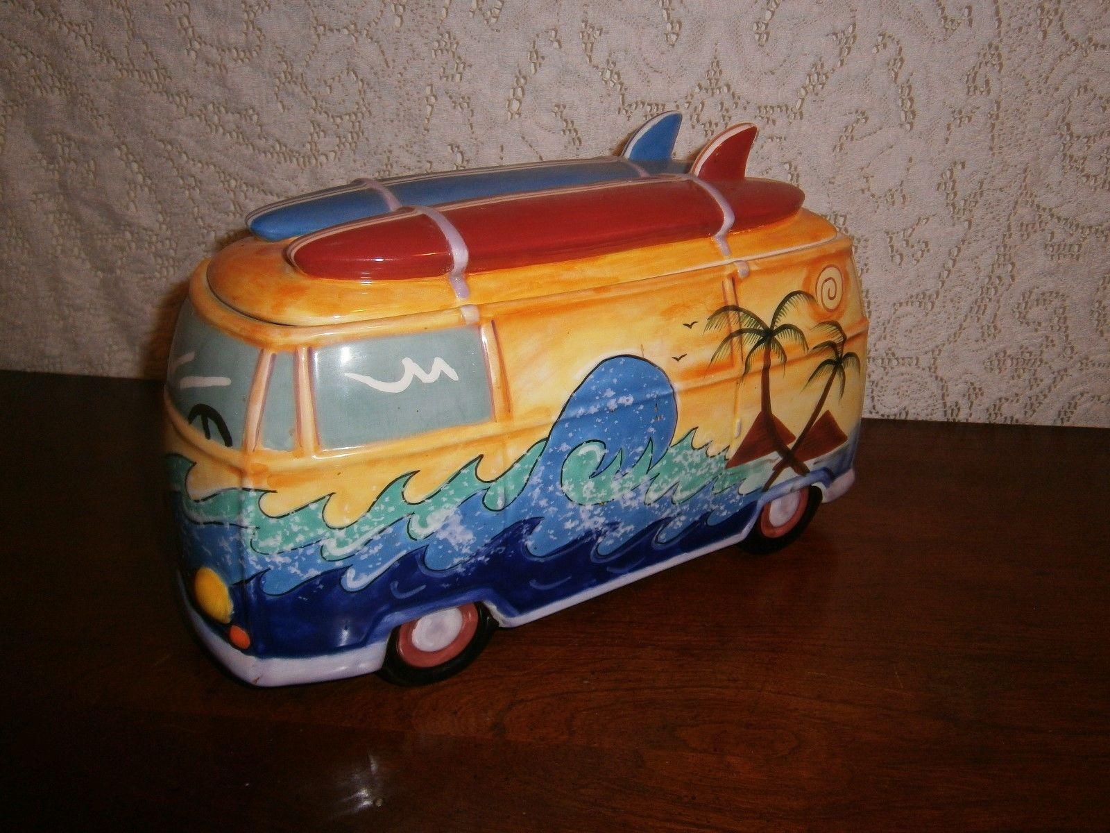 Vw Bus Cookie Jar Jars