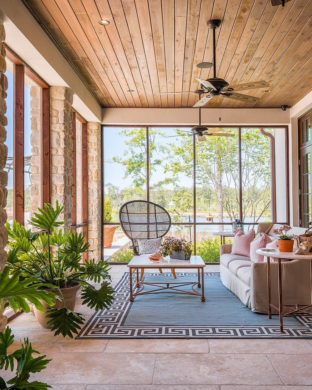 30 Sunroom Seating Ideas from the Comfy to the Creative  Small