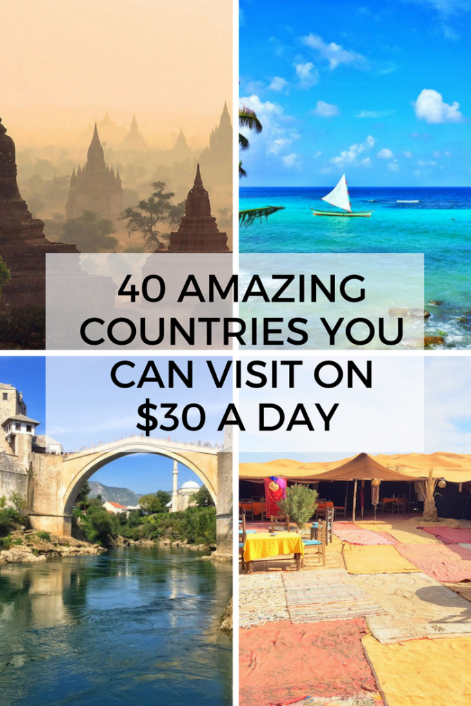 40 Cheapest Countries To Visit On 30 Per Day Or Less Eternal Arrival Cheap Countries To Travel Cheap Places To Travel Europe Travel