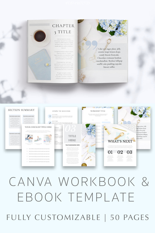 Ebook Canva Templates Workbook Canva Templates in 2020