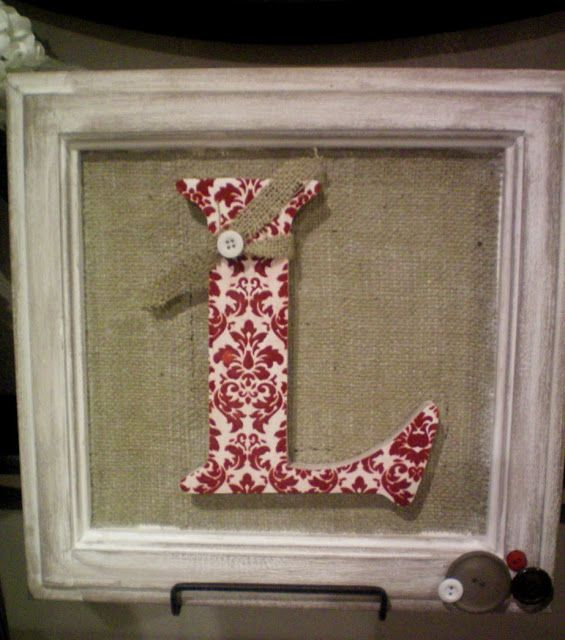I have a lot of burlap, if anyone wants to do one of these for your ...
