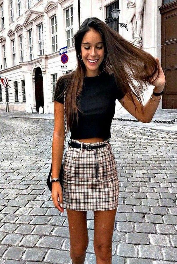 134 Sommer-Outfits, die Teenager-Mädchen jetzt kopieren können #chicsummeroutfits