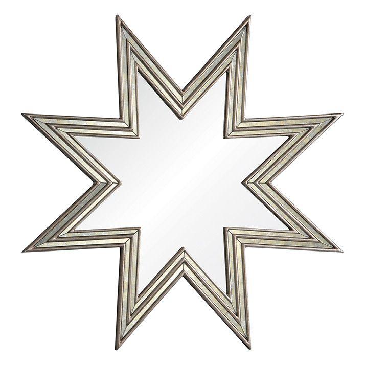 Star Mirror Wall Decor michael s smith for mirror image celeste mirror @zinc_door $911