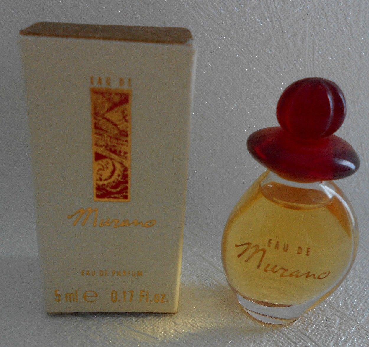 rare miniature de parfum eau de murano edp 5 ml collections parfums miniatures ebay. Black Bedroom Furniture Sets. Home Design Ideas