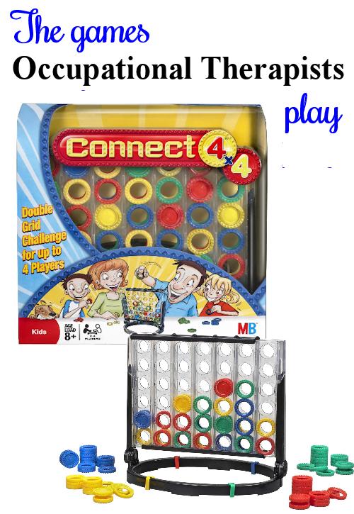 Connect 4X4 balance/coordination Family fun games