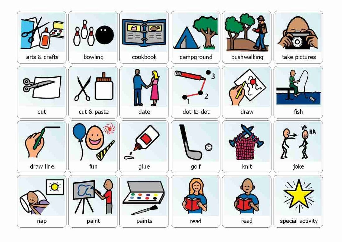 Preschool Boardmaker Schedule Icons