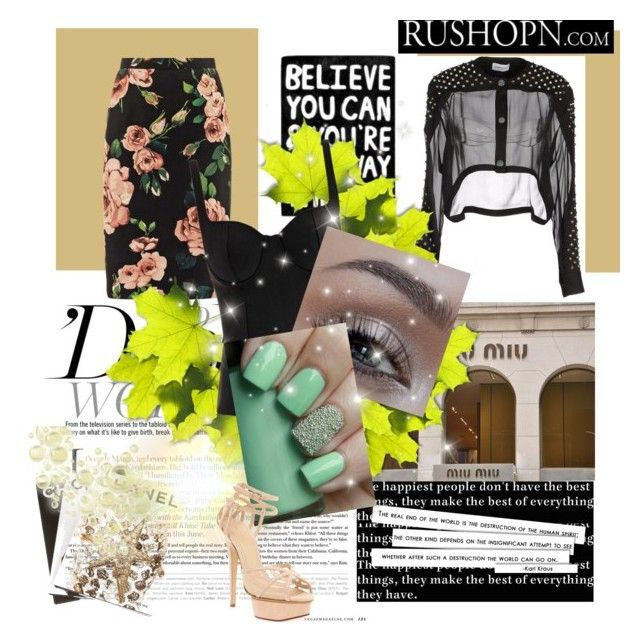 """""""Rock my florals"""" by gboreka ❤ liked on Polyvore featuring Dolce&Gabbana, Au Jour Le Jour, Alexander McQueen, Urban Decay, Charlotte Olympia and Assouline Publishing"""