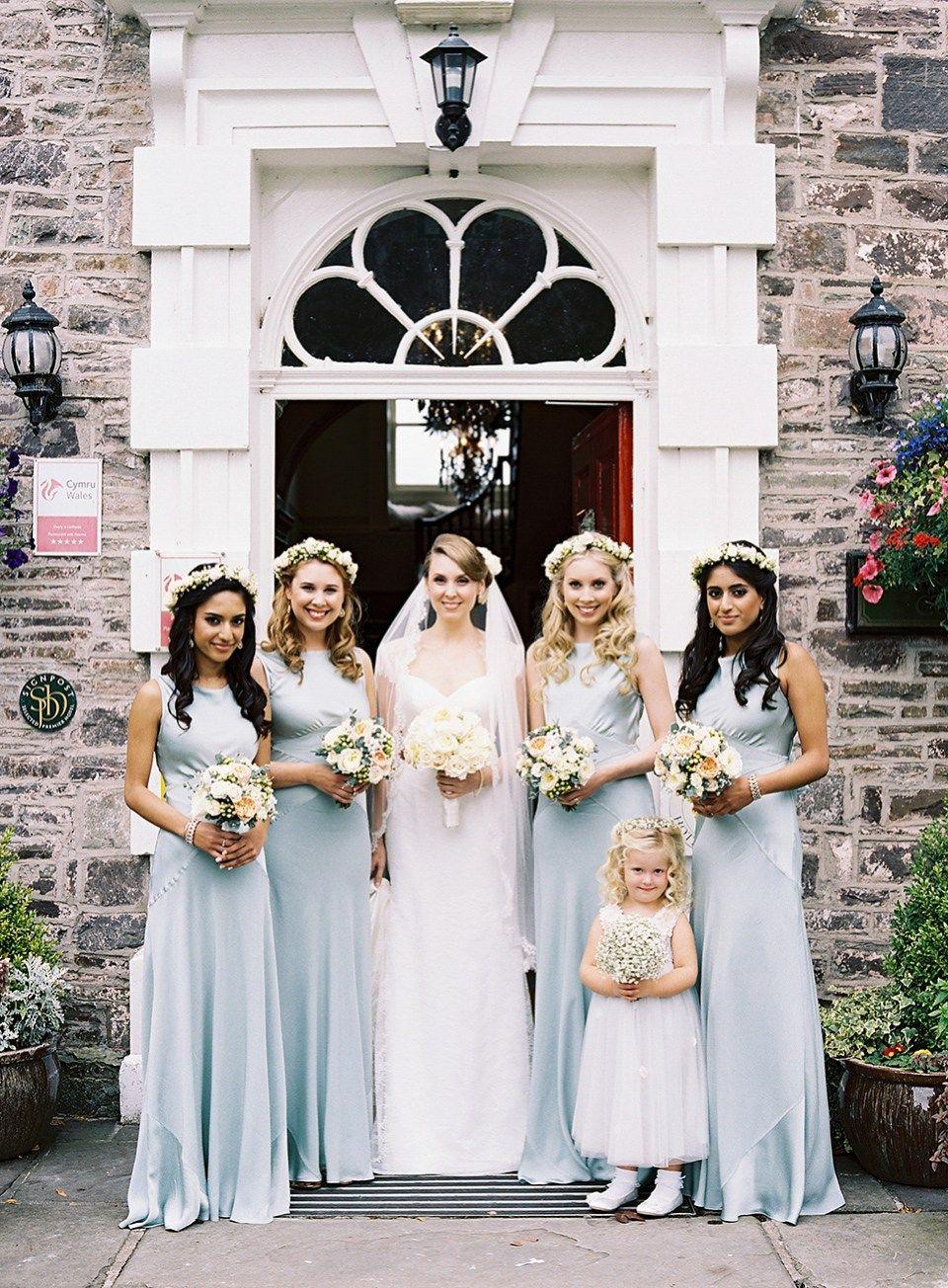 Stephanie allin elegance for a summer wedding in wales dresses