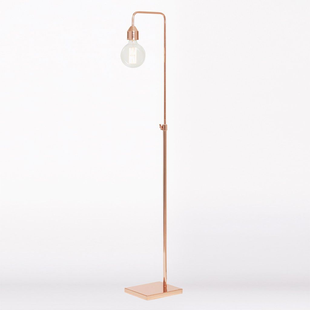 Ava rose gold floor lamp new home deco pinterest floor lamp ava rose gold floor lamp mozeypictures Images