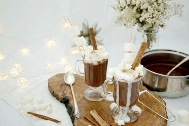 Sopa de chocolate caliente muy típica y necesaria en Islandia - Kakósúpa