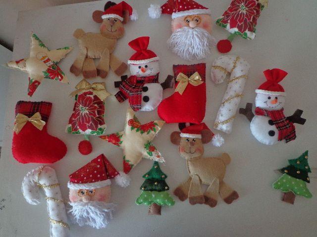 Enfeites de Natal para arvore