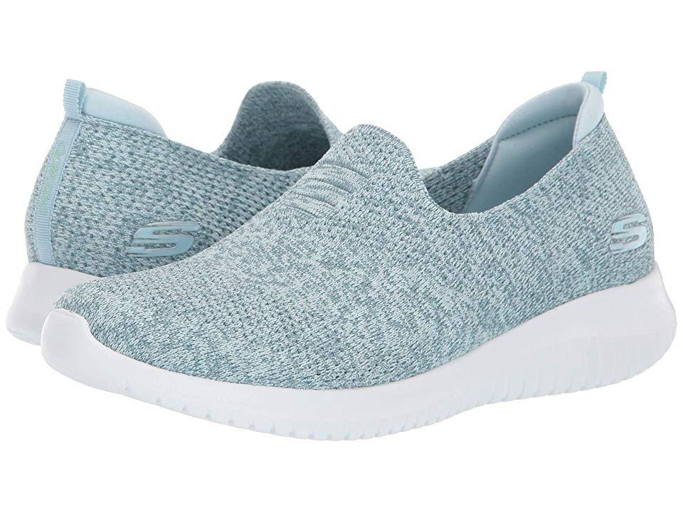 Skechers Ultra Flex Harmonious Women S Shoes Blue Skechers