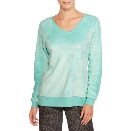 a7f87a84d01a Secret Treasures Women s Super Minky Plush Pajama Sleep Shirt