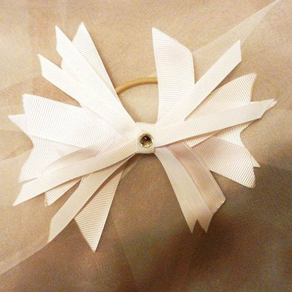 white spike bow cheer ponytail style 2 Cyber by beautifulswagstore, $8.50 #etsysns #boebot #coupon BELTTESTING 40% OFF