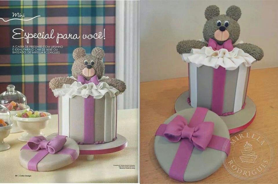 Nosso trabalho na revista Cake Designer 18!