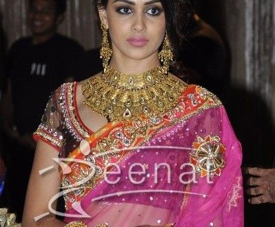 Genelia D'Souza In Bridal Lehenga Choli   Bridal lehenga ...