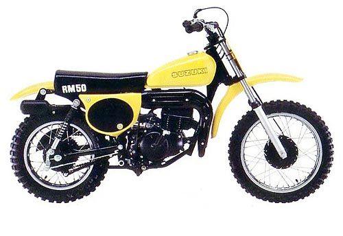 Suzuki Rm 50 1978 My First Bike Suzuki Vintage Motocross Vintage Bikes