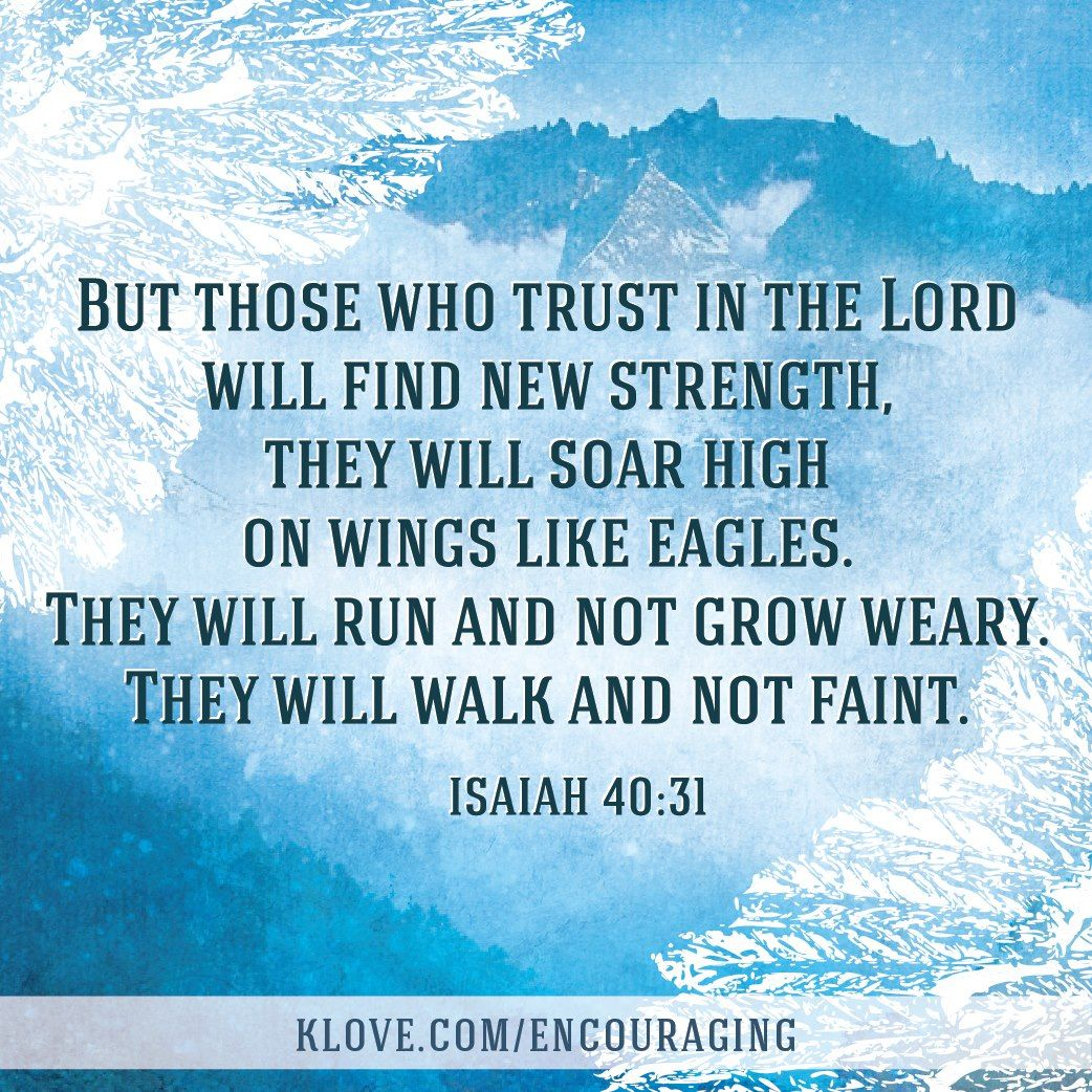 Today S Encouraging Word Daily Bible Verse Http Klove Cta Gs