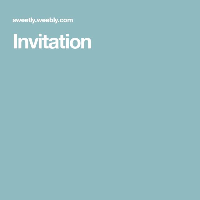 Invitations Scrapped