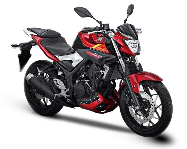 Yamaha MT25 red