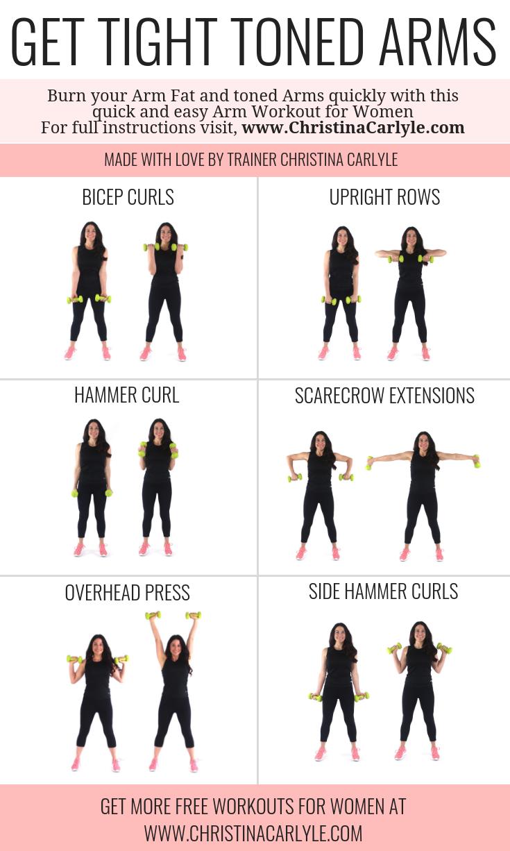 Photo of Arm Workout für Frauen, die straffe Arme wollen