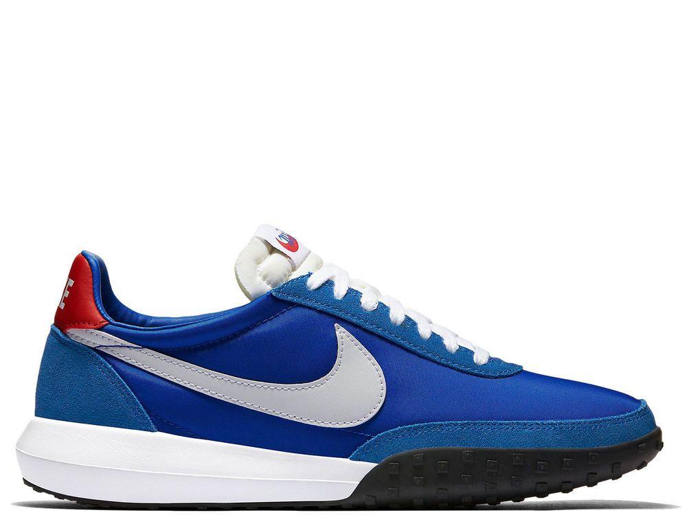 Nike Men's Roshe Waffle Racer NM Size 9 NEW 845089 401 Hyper Cobalt  Univrsty Red