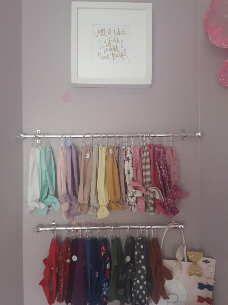 Bow Headband Storage Both Curtain Rails 3 50 And Instead Of S