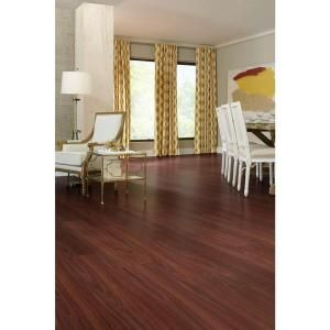 Phenomenal Trafficmaster Goldwyn Cherry 7 Mm Thick X 8 03 In Wide X Home Interior And Landscaping Eliaenasavecom